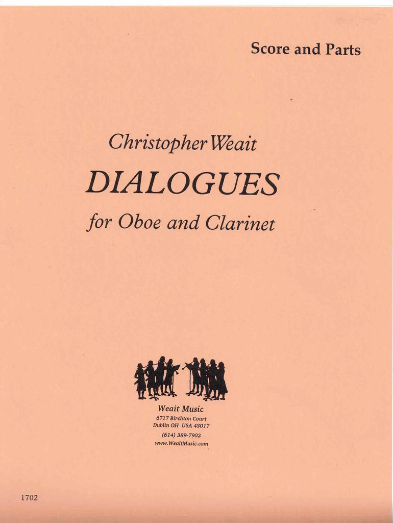 Weait, Christopher % Dialogues (Score & Parts)-OB/CL