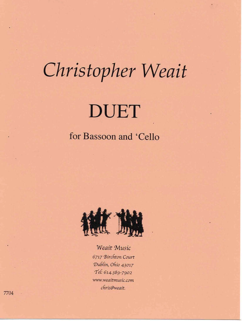 Weait, Christopher % Duet (Performance Scores)-BSN/CEL
