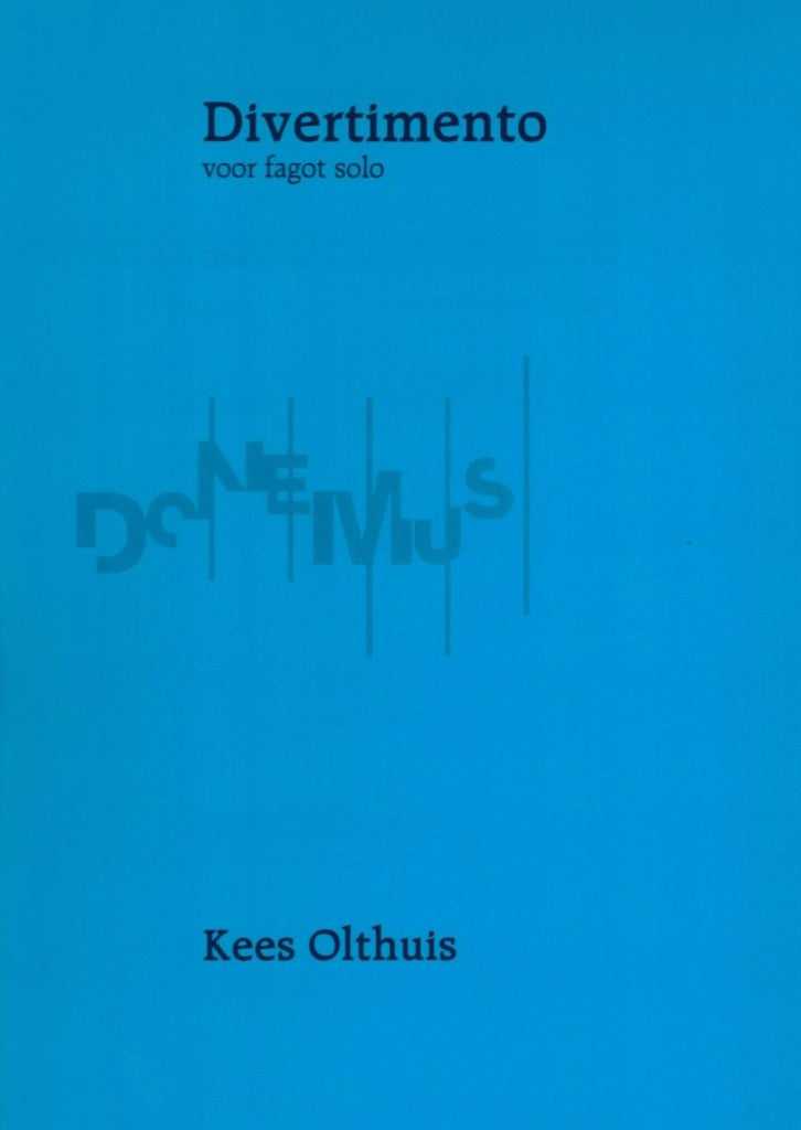 Olthuis, Kees % Divertimento-SOLO BSN