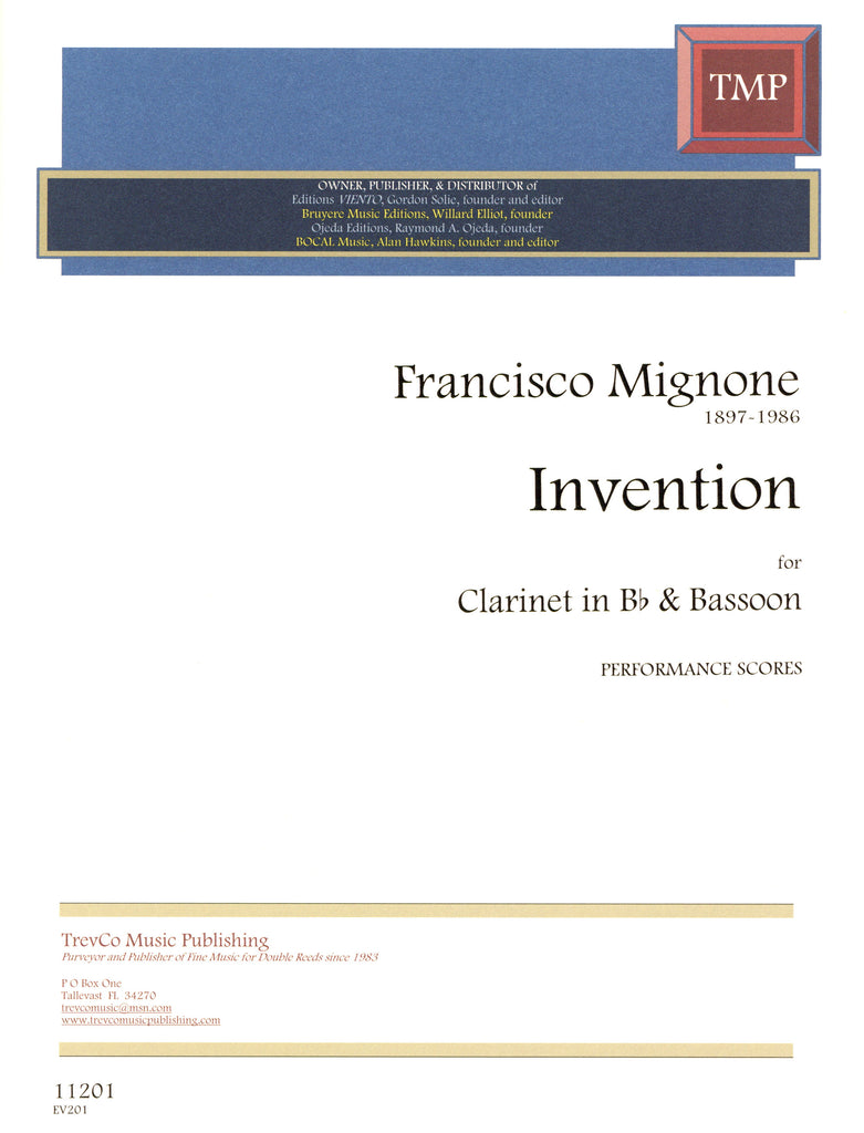 Mignone, Francisco % Invention (performance scores)-CL/BSN
