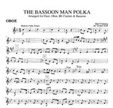 Fryberg, Mart % The Bassoon Man Polka (Score & Parts)-WW4