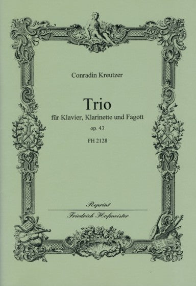 Kreutzer, Conradin % Trio in Eb Major Op 43-CL/BSN/PN