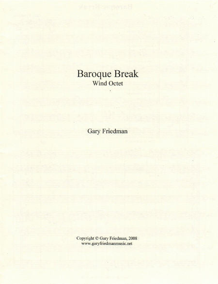 Baroque Break Cover