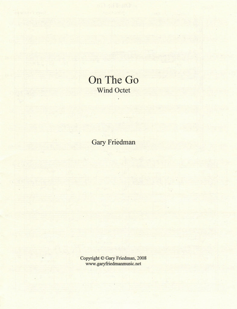 On the Go Cover