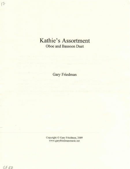 Kathie's Assortment Cover