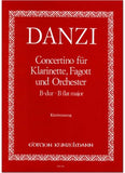 Danzi, Franz % Concertino in Bb Major Op 47-CL/BSN/PN