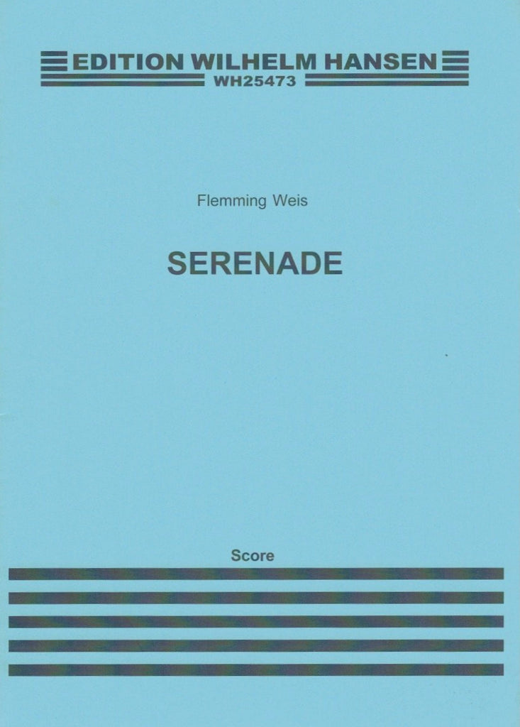 Weis, Flemming % Serenade (Score Only)-WW5