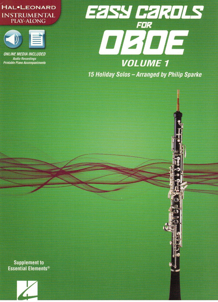 Sparke, Philip % Easy Carols for Oboe V1-OB/(PN)