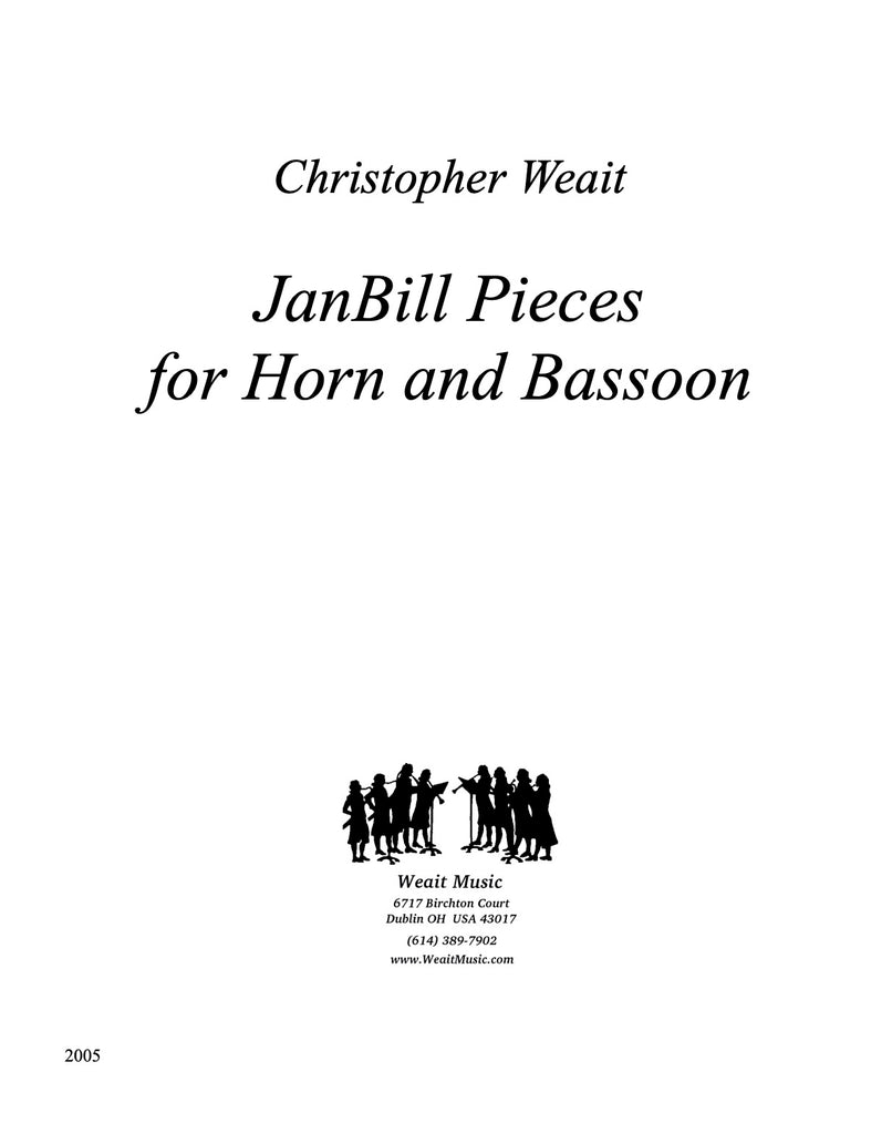 Weait, Christopher % JanBill (score & parts)-BSN/HN