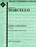 Marcello Oboe Concerto c minor KAL - Cover