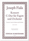 Fiala, Joseph % Concerto in C Major-BSN/PN