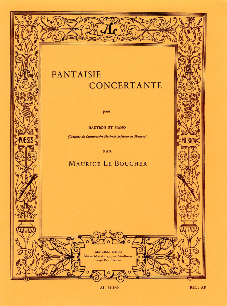 Le Boucher % Fantaisie Concertante-OB/PN