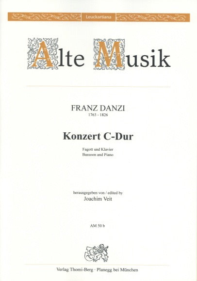 Danzi, Franz % Concerto in C Major-BSN/PN