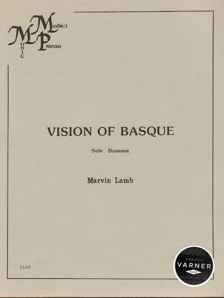 Lamb, Marvin % Vision of Basque-SOLO BSN