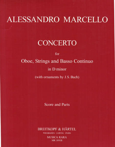 Marcello Oboe Concerto d minor MR - cover