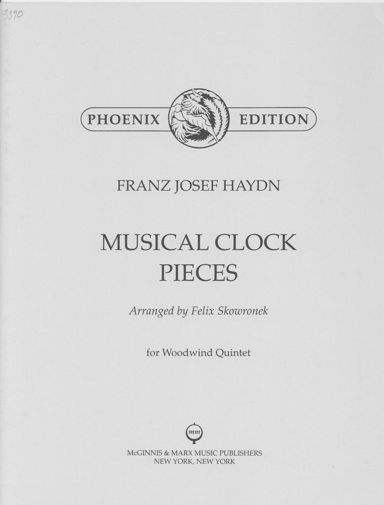 Haydn, Franz Joseph % Musical Clock Pieces (Parts Only)-WW5