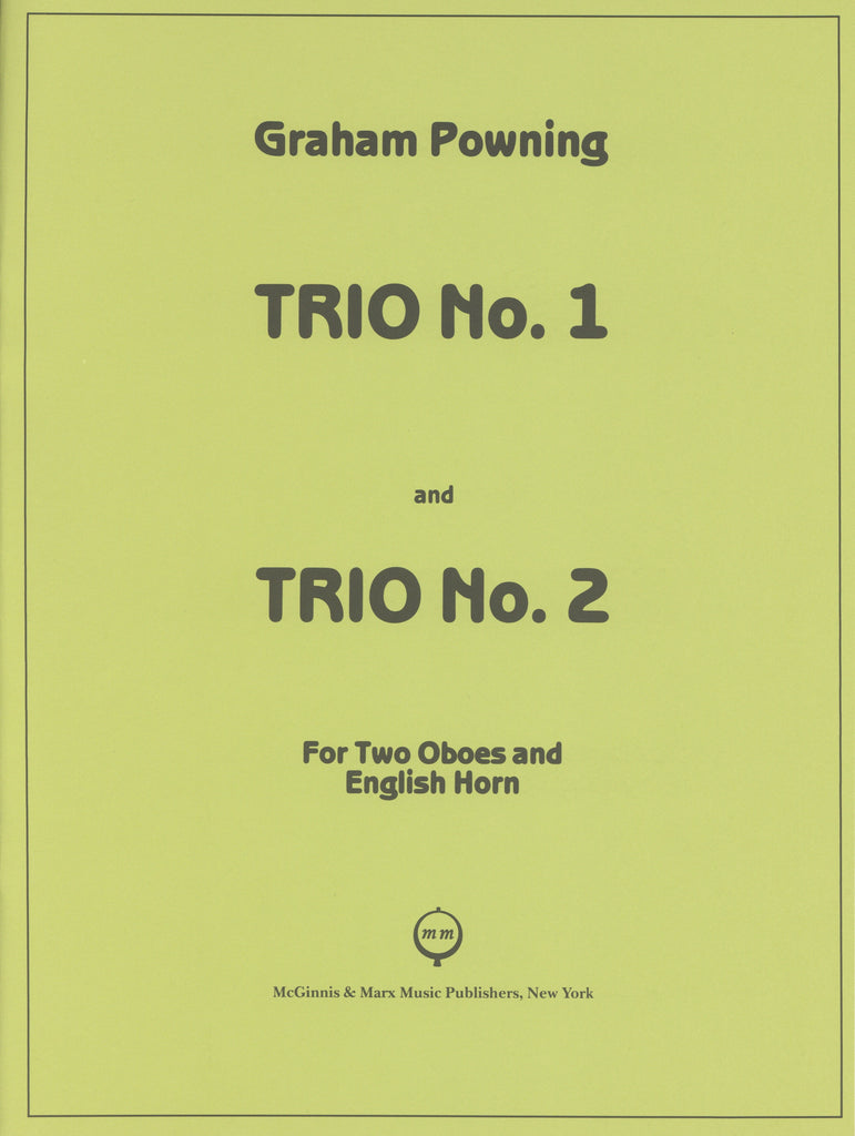 Powning, Graham % Trio #1 & #2 (Parts Only)-2OB/EH