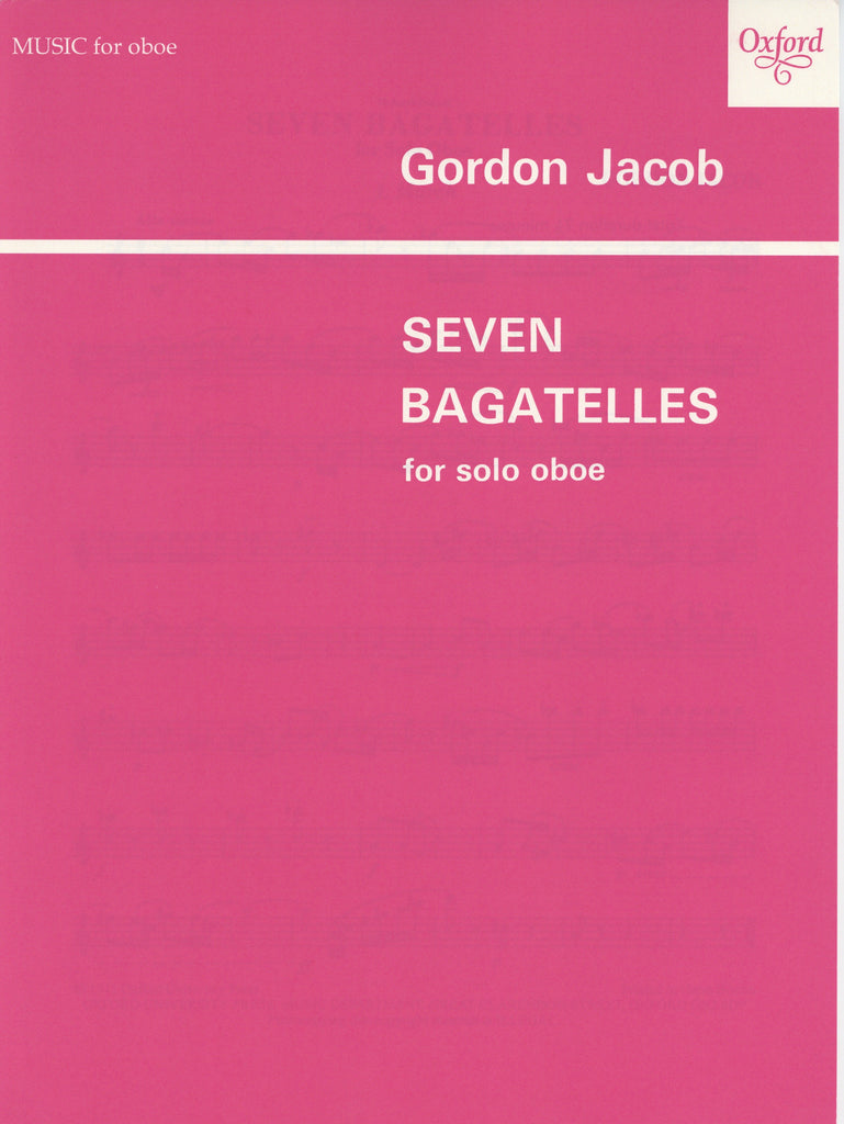 Jacob, Gordon % Seven Bagatelles-SOLO OB