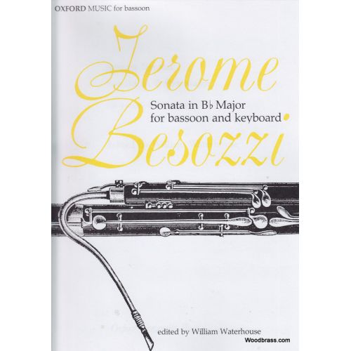 Besozzi, Jerome % Sonata in Bb Major (Waterhouse)-BSN/PN