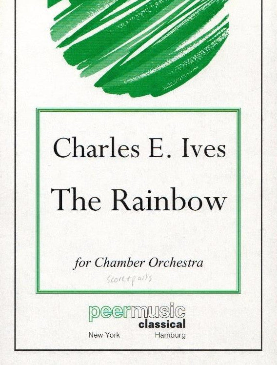 Ives, Charles % The Rainbow (Parts Only)-FL/EH/STGS/PN