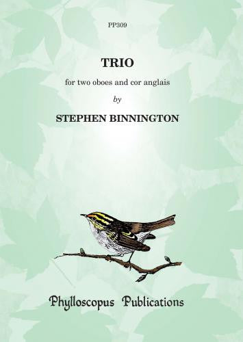Binnington, Stephen % Trio (Score & Parts)-2OB/EH