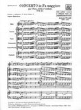 Vivaldi, Antonio % Concerto in F Major F7#2 RV455 (Score Only)-OB/STGS