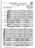 Vivaldi, Antonio % Concerto in d minor F7 #9 RV535 (Score Only)-OB2/STGS
