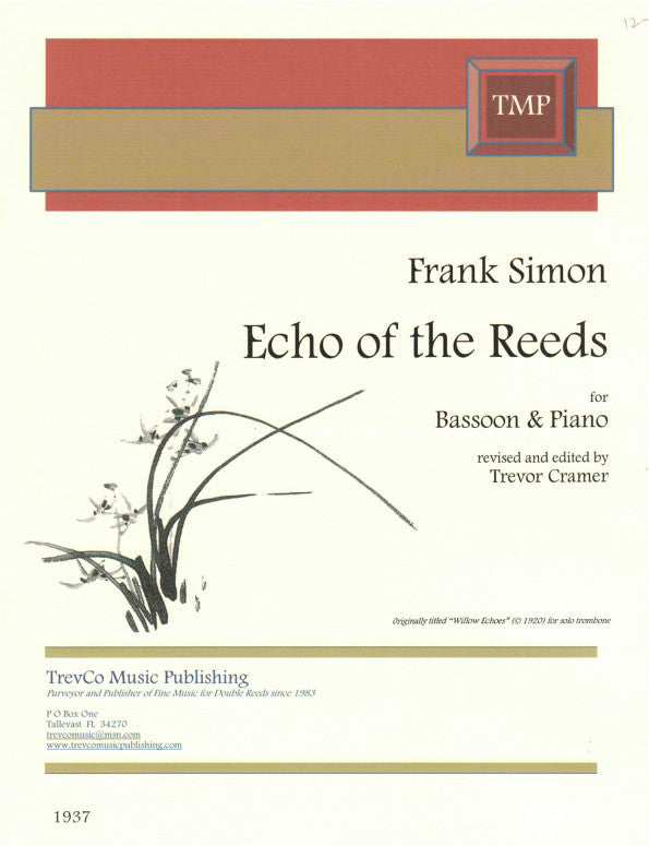 Simon, Frank % Echo of the Reeds-BSN/PN