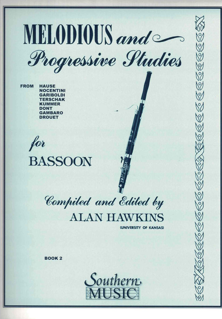 Collection % Melodious & Progressive Studies Book 2 (Hawkins)-BSN