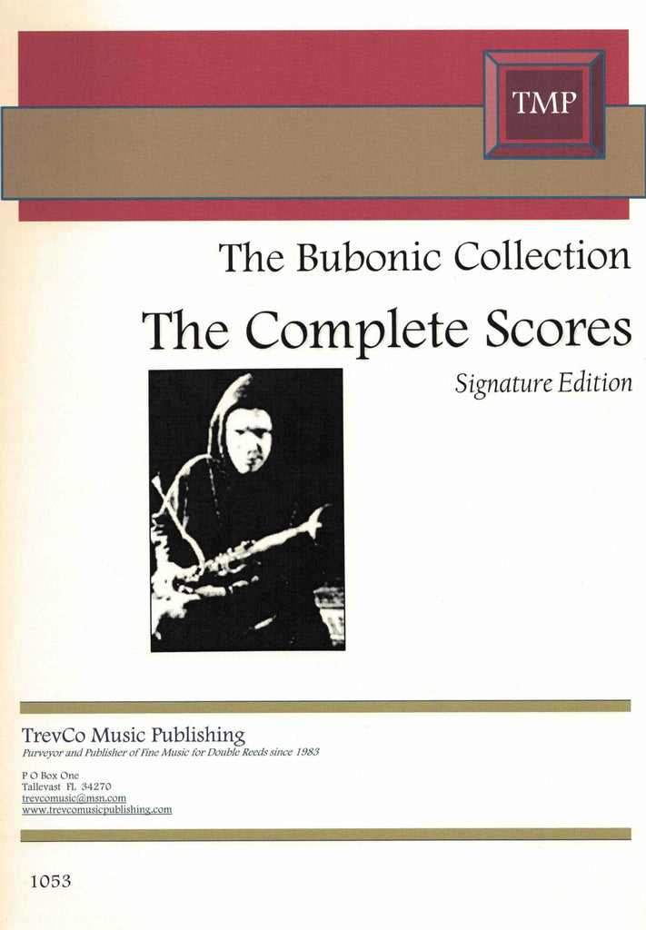 Bubonic-4 % The Bubonic Collection: The Complete Scores (Score Only)-4BSN