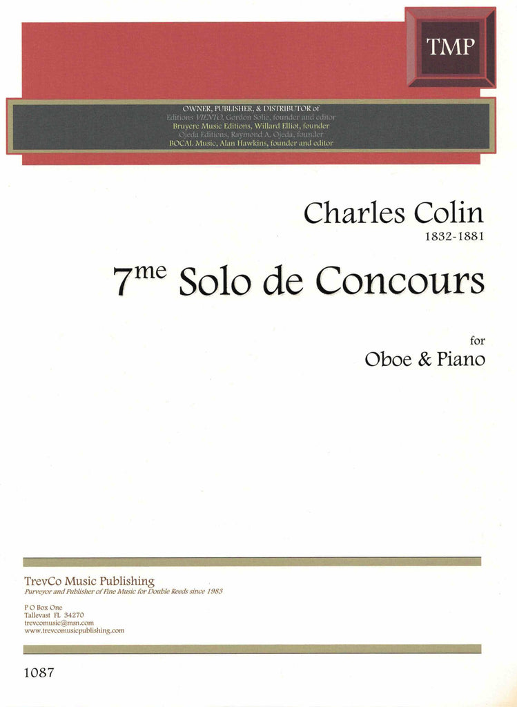 7th Solo de Concours-OB/PN - TrevCo-Varner Music