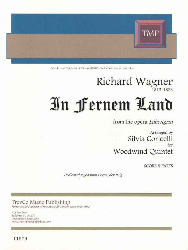 "Wagner, Richard % In Fernen Land from ""Lohengrin"" (Score & Parts)-WW5"