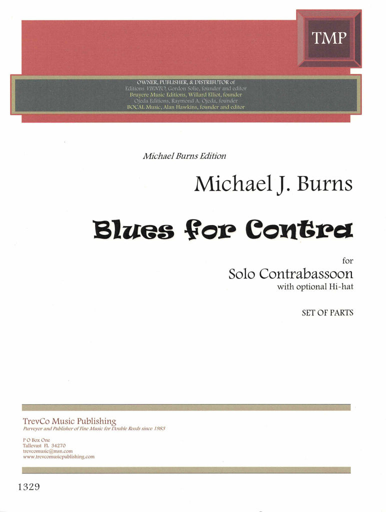 Burns, Michael % Blues for Contra-SOLO CBSN