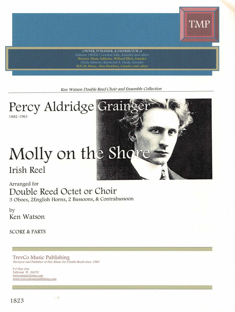 Grainger, Percy Aldridge % Molly on the Shore (Score & Parts)-DR CHOIR