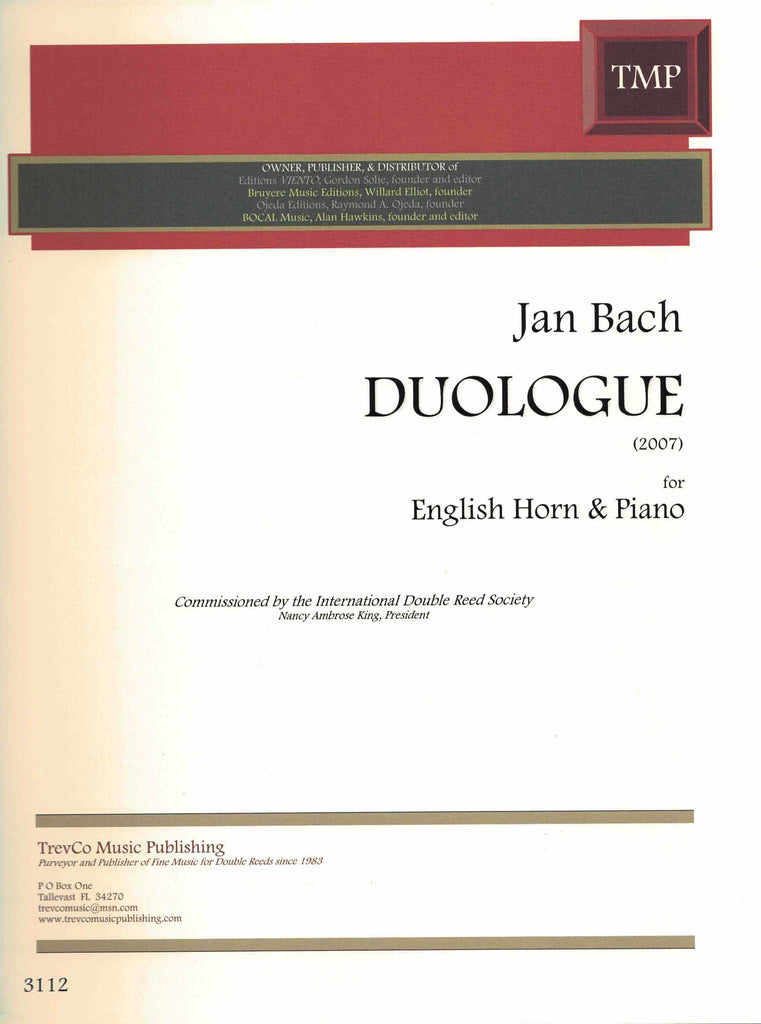 Bach, Jan % Duologue-EH/PN
