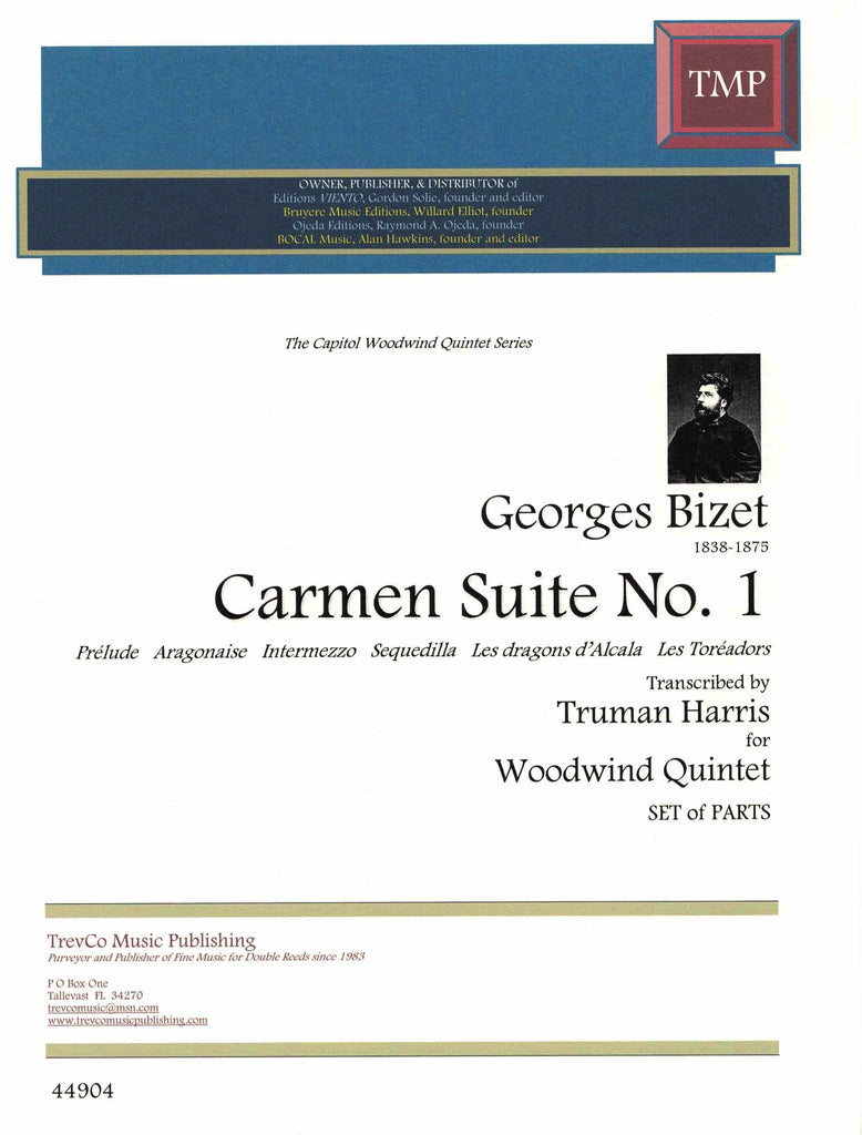 Bizet, Georges % Carmen Suite #1 (Parts Only)-WW5