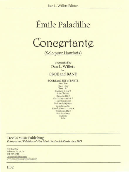 Paladilhe Concertante Oboe Band - Cover