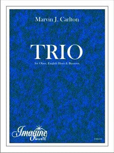 Carton, Marvin % Trio (Score & Parts)-OB/EH/BSN