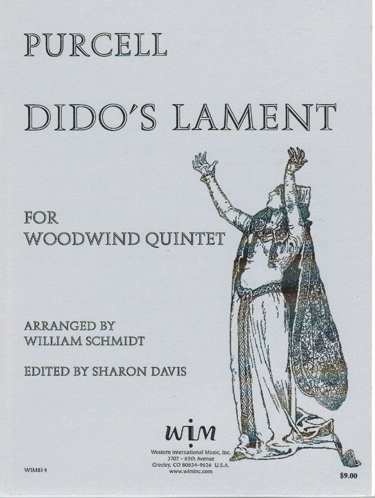 Purcell % Dido's Lament (Score & Parts)-WW5