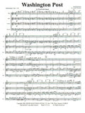 Sousa % Washington Post March (Score & Parts)-WW4