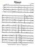 "Handel, Georg Friedrich % Minuet from ""Water Music Suite"" (Score & Parts)-WW4"