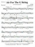 Bach, JS % Air for the G String (Score & Parts)-WW4