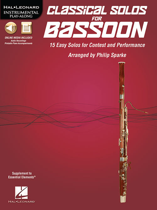 Sparke, Philip % Classical Solos for Bassoon V1-BSN/PN (includes CD)