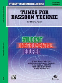 Paine, Henry % Tunes for Bassoon Technic Level 1-BSN