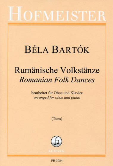 Bartok, Bela % Romanian Folk Dances-OB/PN