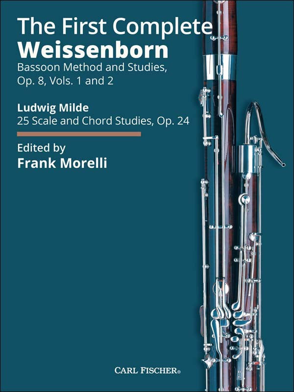 Weissenborn, Julius % The First Complete Weissenborn Op 8 #1 & #2- Spiral Bound Edition (Morelli)-BSN