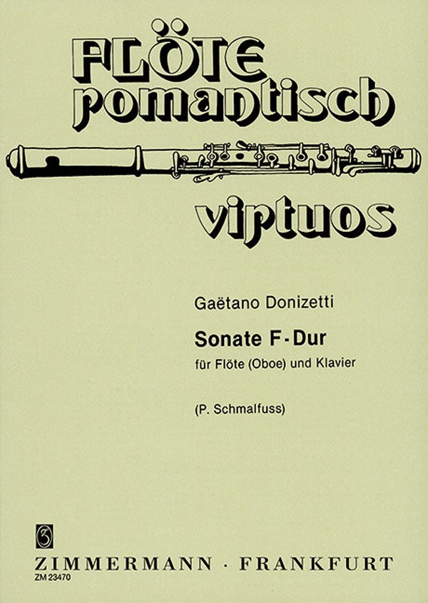 Donizetti, Gaetano % Sonata in F Major-OB/PN
