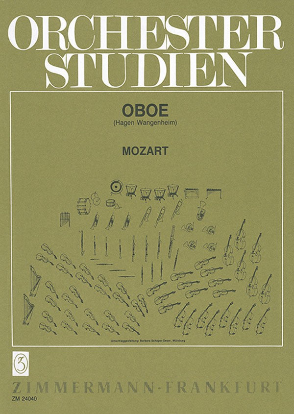 Mozart, Wolfgang Amadeus % Orchestral Studies-OB