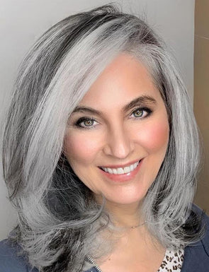2020 Hot sale silver wigs for ladies(Two lengths)