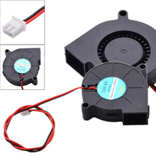 Load image into Gallery viewer, 1pc 50mm 12V/24V DC Cooling Blower Fan 5000RPM